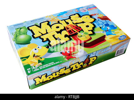 Mouse Trap board game - Stock Image