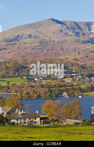 Coniston Water Lake District Cumbria England - Stock Image