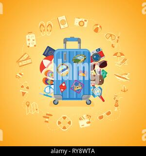 Vacation Travel and Summer Concept - Stock Image