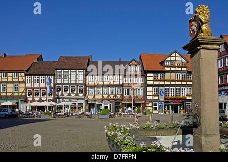 Germany, Lower Saxony, Celle, Grosser Plan - Stock Image