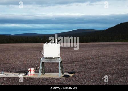 NASA's BARREL Mission in Sweden (28426516954) - Stock Image
