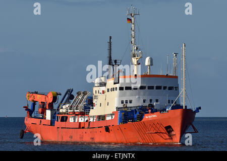 Diving vessel RS Sentinel - Stock Image