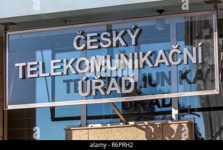Cesky telekomunikacni urad sgn, Czech Republic - Stock Image