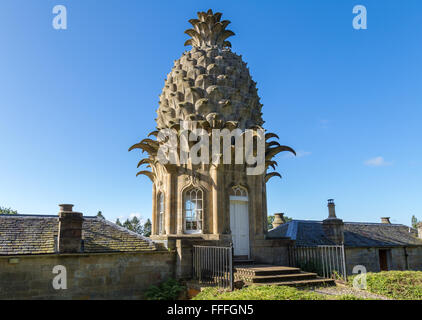 The Dunmore Pineapple, Airth, Falkirk, Scotland, UK - Stock Image