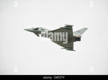 Italian Air Force Eurofighter Typhoon T2000 - Stock Image