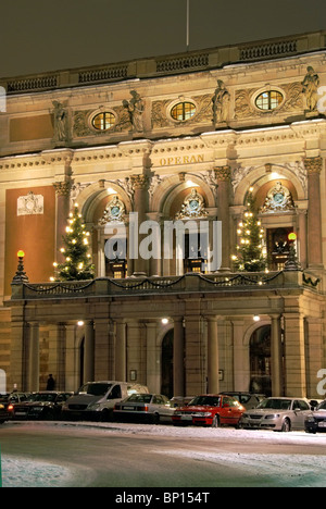 Stockholm Sweden. The Royal Opera house. - Stock Image