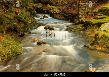 UK Cumbria Buttermere Mountain Stream - Stock Image