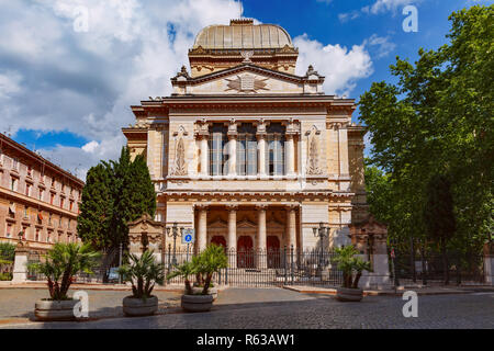 Great Synagogue of Rome, Italy - Stock Image