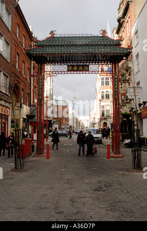 Chinatown London 2006 - Stock Image