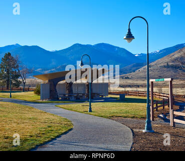 Road Side Rest Stop - Stock Image