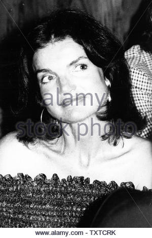 Jacqueline Lee Bouvier 'Jackie' Kennedy Onassis. Credit: 1073105Globe Photos/MediaPunch - Stock Image