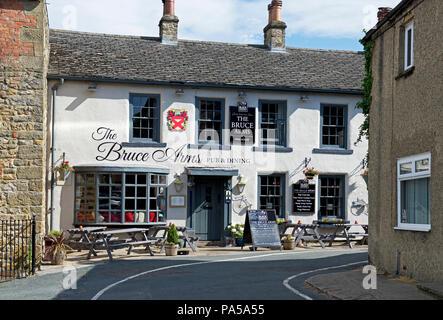 The Bruce Arms in Masham, North Yorkshire, England UK - Stock Image