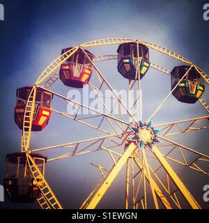 Ferris Wheel at a carnival - Stock Image
