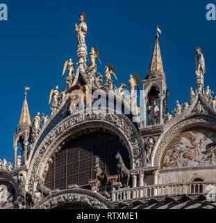 St Mark's Basilica, Venice, Italy. - Stock Image