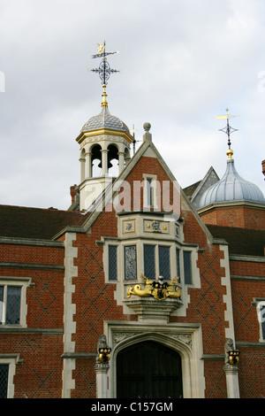 The Frontage of Crosby Hall, Cheyne Walk, Chelsea, London, UK. - Stock Image