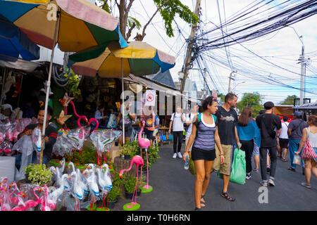 Chatuchak Weekend Market, Northern Bangkok, Bangkok, Thailand - Stock Image