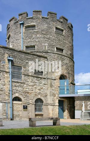 Oxford Prison Hotel, Oxford Castle Development, Oxford, Oxfordshire, UK - Stock Image