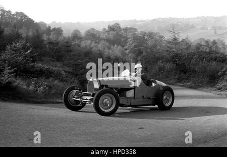 1960 Bugatti Wiscombe Hillclimb - Stock Image