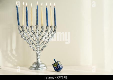 Jewish holiday Hanukkah - Stock Image