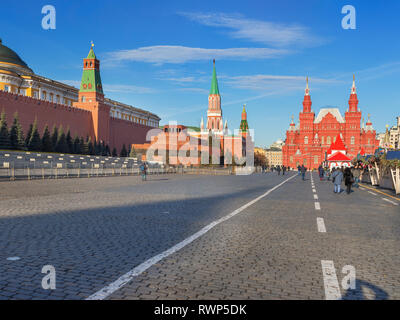 Red square, Moscow, Russia - Stock Image