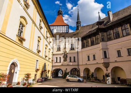Blatna chateau, Czech Republic - Stock Image