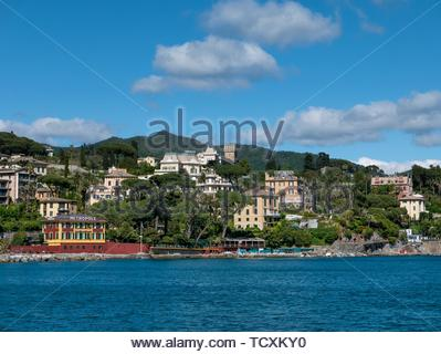 View of Santa Margherita Ligure - Stock Image