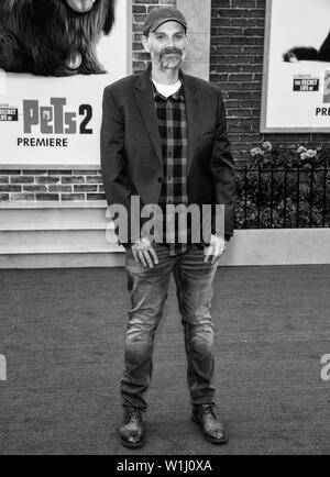 Los Angeles, CA - June 02, 2019: Brian Lynch attends the Premiere Of Universal Pictures' 'The Secret Life Of Pets 2' held at Regency Village Theatre - Stock Image