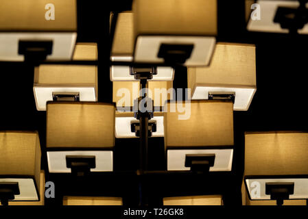 A modern lamp - Stock Image