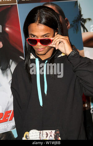 New York, USA. 13 March, 2009. Island/Def Jam Recording Artist, Unique at the launch of Carrera Vintage Sunglasses at Angel Orensanz Foundation. Credit: Steve Mack/Alamy - Stock Image