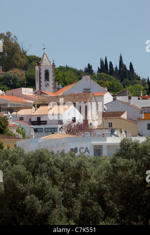 Portugal, Algarve, Pademe, View of Village - Stock Image