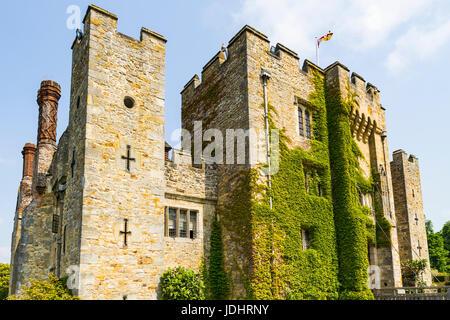 Hever Castle, Hever Castle & Gardens, Hever, Edenbridge, Kent, England, United Kingdom - Stock Image