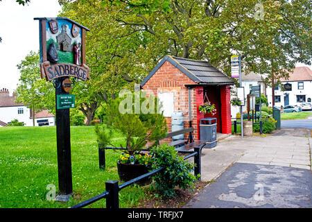 Sadberge, Borough of Darlington, England - Stock Image