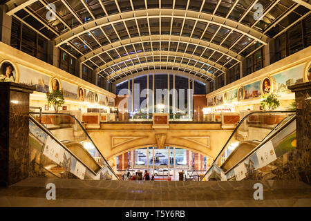 BANGALORE, INDIA - MARCH 28, 2012: UB City Mall is a first luxury mall in Bangalore, India - Stock Image