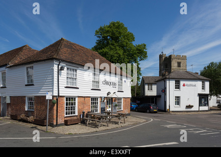 Chequers Fish Bar in the Pretty Village of Lenham Kent - Stock Image