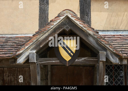 shakespeare coat of arms - Stock Image