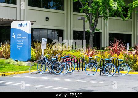 Intuit Inc. Mountain View, Silicon Valley California USA - Stock Image