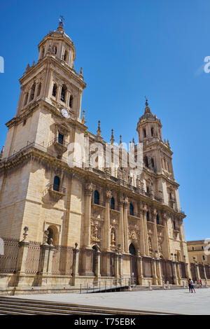 Jaén Cathedral. Andalusia, Spain. - Stock Image