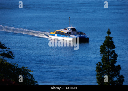 Brisbane Citycat ferry Queensland Australia - Stock Image