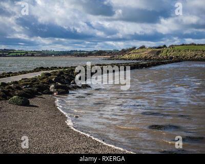 Island Hill, near Newtownards, UK - Stock Image