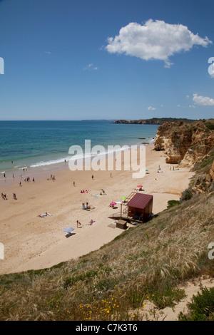 Portugal, Algarve, Praia Da Rocha, Beach - Stock Image