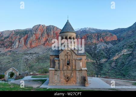 Noravank Monastery in Southern Armenia taken in April 2019rn' taken in hdr - Stock Image