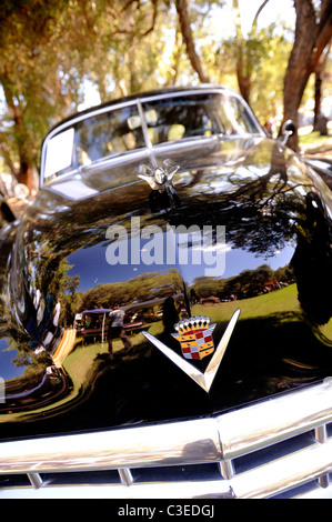 1949 Cadillac Club Coupe / Sedanette, 61 Series, classic American motor car - Stock Image