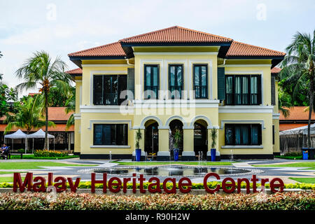 Malay Heritage Centre, Kampong Glam, Singapore - Stock Image