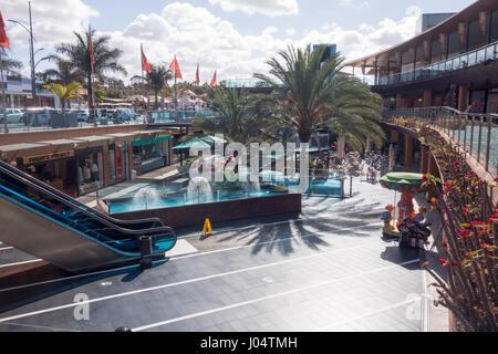 Las Palmeras Shopping Centre in Fuengirola. - Stock Image