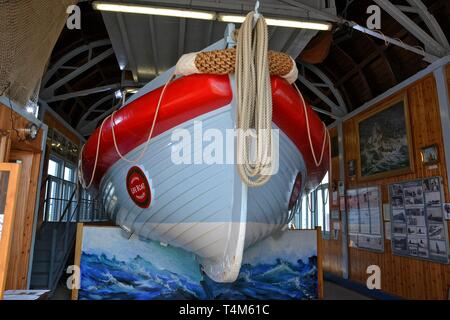 Alfred Corry Lifeboat Museum, Southwold, Suffolk, UK - Stock Image