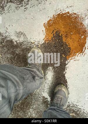Rain - Stock Image