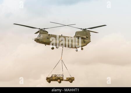 RAF Chinook - Stock Image