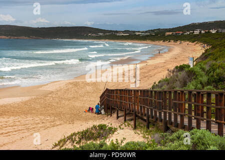 Robberg beach on the Garden Route in South Africa. - Stock Image
