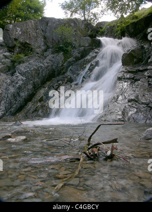 Stream in the Coniston Coppermines valley in the English Lake District - Stock Image
