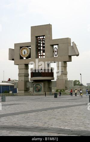 Carillon at the Basilica de Guadalupe, Mexico City, Mexico - Stock Image